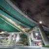 上社ジャンクション(上社JCT)の夜景(名古屋市名東区)