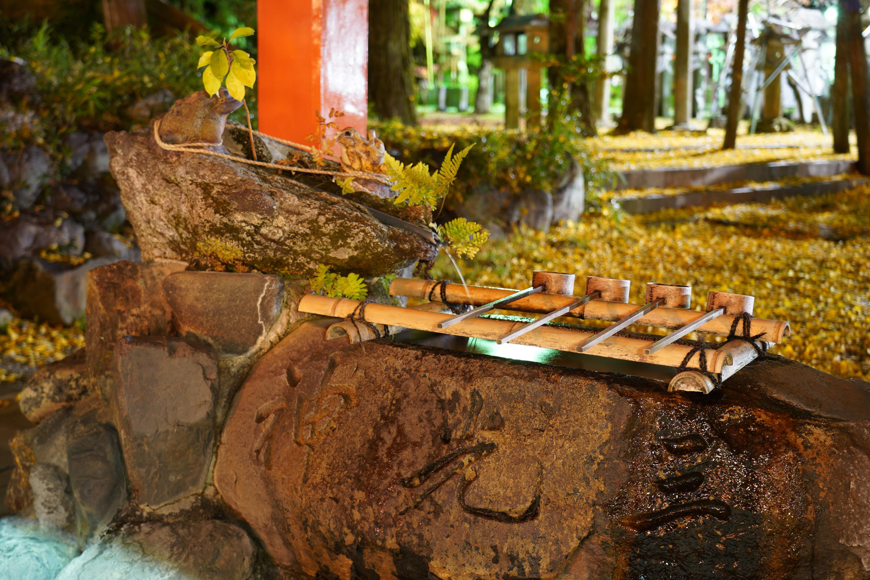 三光稲荷神社の手水舎(ちょうずや)