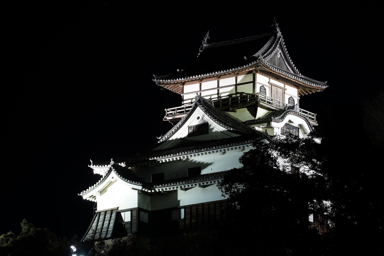 犬山城ライトアップ