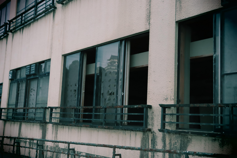 某、犬山の廃旅館