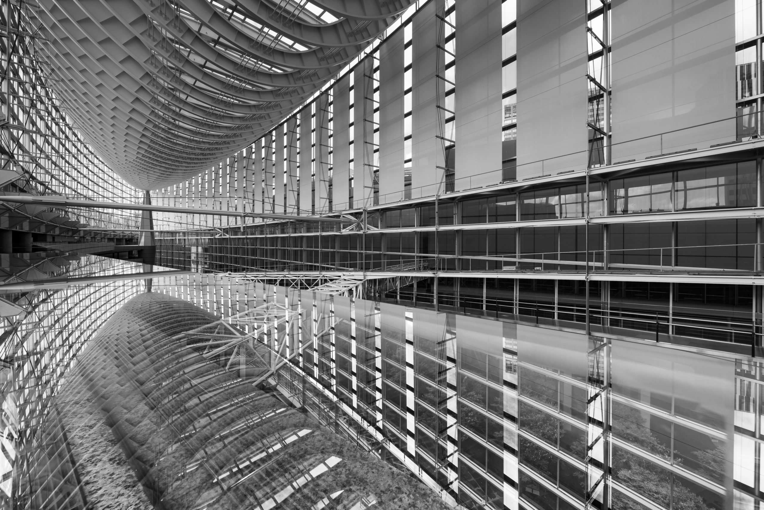 Reflection of Tokyo International Forum