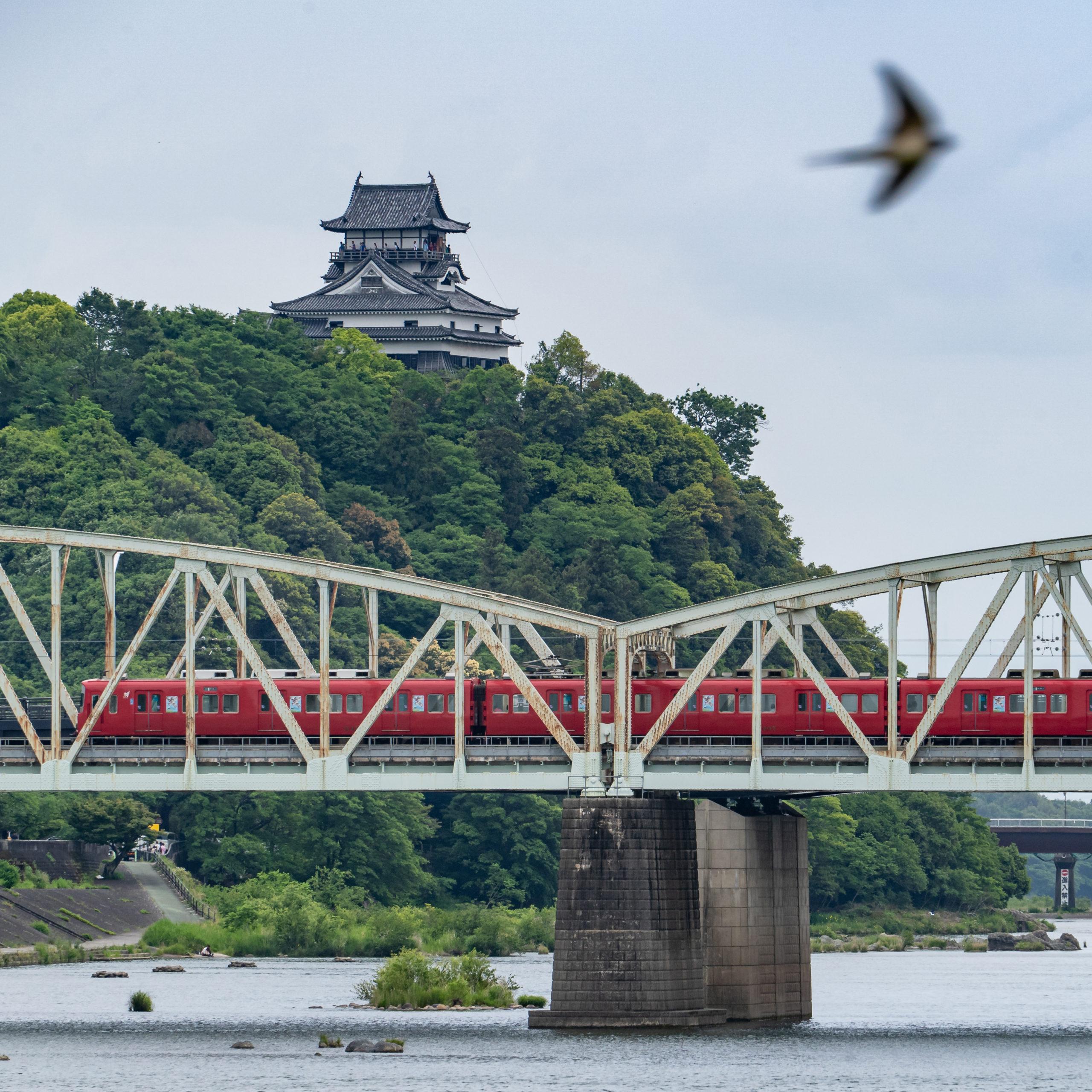 名古屋鉄道と国宝犬山城